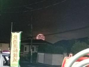 葉山の花火大会